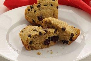 PaleoNewbie Cranberry Chocolate-Chip Scones (gluten-free)