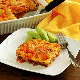Paleo Chorizo Egg Bake Recipe