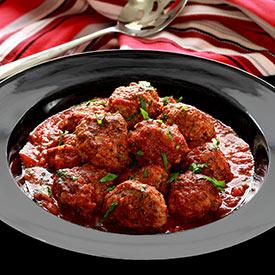 Paleo Italian Meatballs in Marinara Sauce
