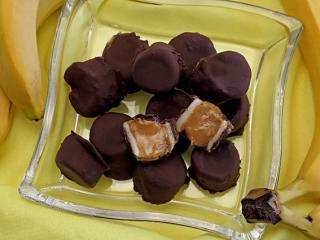 3-Ingredient Chocolate Nutter Nanner Bites