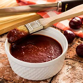 Paleo Cherry Barbecue Sauce