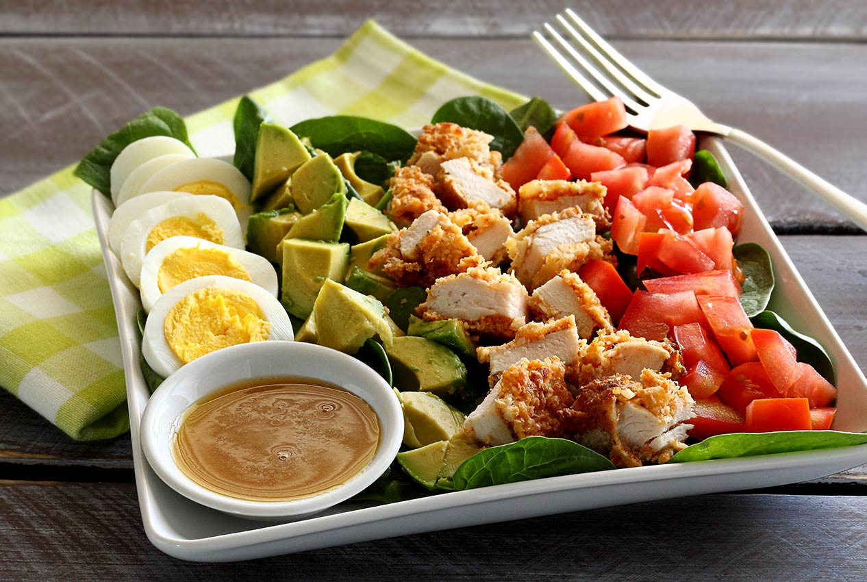 Paleo Newbie Paleo Macadamia Nut Chicken Salad with Honey-Mustard Dressing
