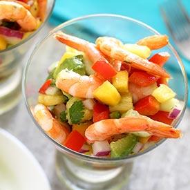 Shrimp & Salsa Summer Salad Recipe