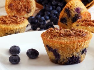 Lemon-Blueberry Paleo Muffins Recipe