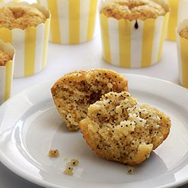 Paleo Lemon Poppy Seed Muffins Recipe