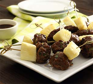 Paleo Teriyaki Meatball Appetizers Recipe