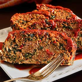Paleo Newbie moist and flavorful paleo and gluten free meatloaf with extra veggies inside