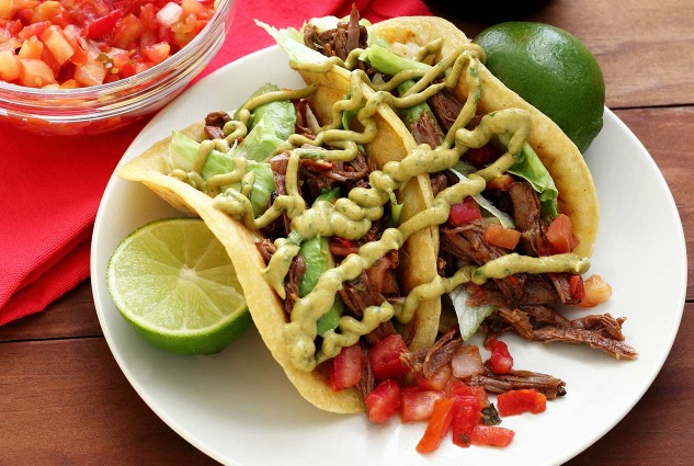 PaleoNewbie recipe for paleo shredded beef tacos