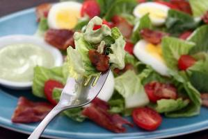 Easy to make paleo and gluten free Tangy Avocado Ranch Dressing from paleonewbie.com