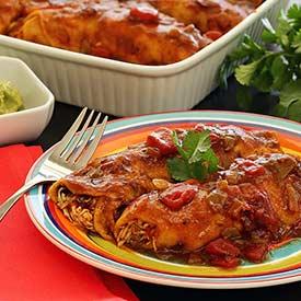 Paleonewbie.com easy recipe fro slow cooked chicken enchiladas