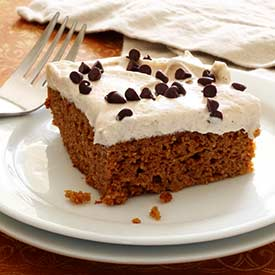 Paleo Pumpkin Cake with Cinnamon-Vanilla Frosting Recipe