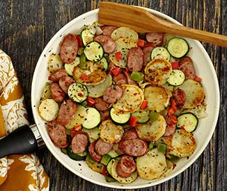 Italian Sausage & Potato Quick Skillet Recipe