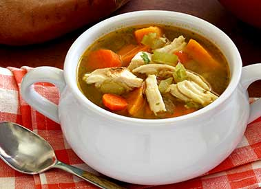 paleo recipe for turkey and veggie soup