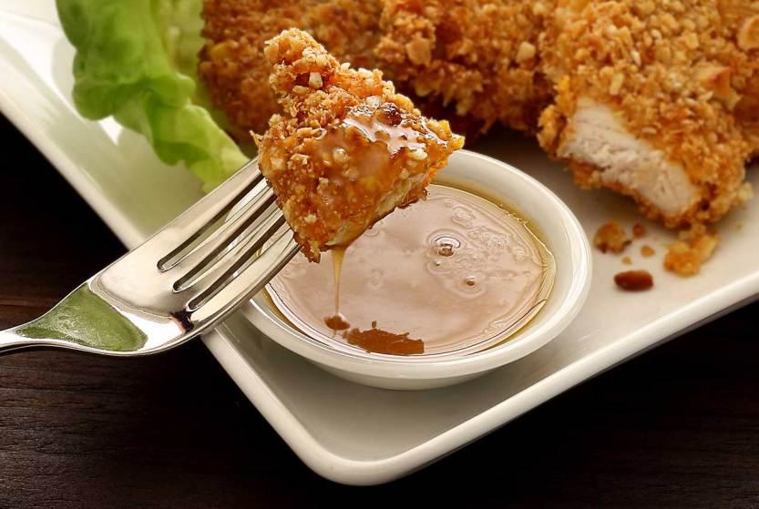 easy paleo recipe for 3-ingredient honey mustard sauce