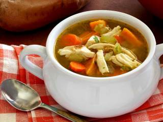 Paleo Turkey & Vegetable Soup
