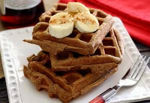 paleo recipe for sweet potato waffles