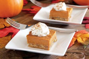 easy paleo pumpkin pie bars recipe