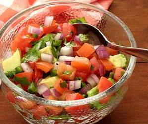 paleo recipe for avocado tomato salsa