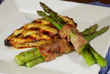 paleo recipe bacon wrapped asparagus