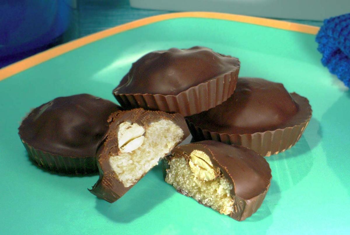 paleo recipe for Almond Joy