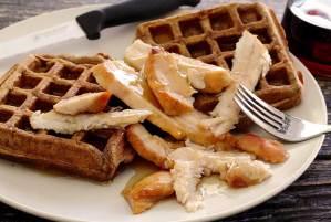 easy paleo recipe for sweet potato waffles