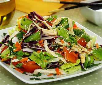 Chicken Salad with Sesame Lime Dressing Recipe