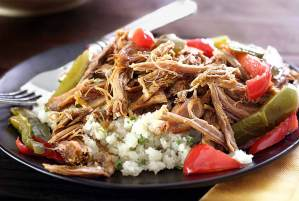 easy paleo recipe for slow cooked green chili pork