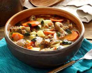 easy paleo soup recipe – Italian sausage and potato