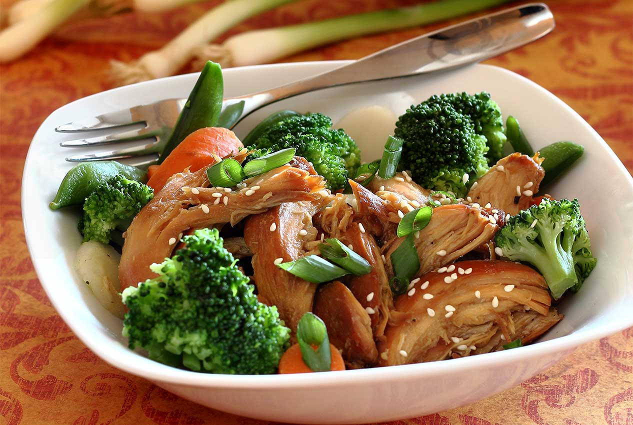 easy paleo recipe for slow cooker teriyaki chicken