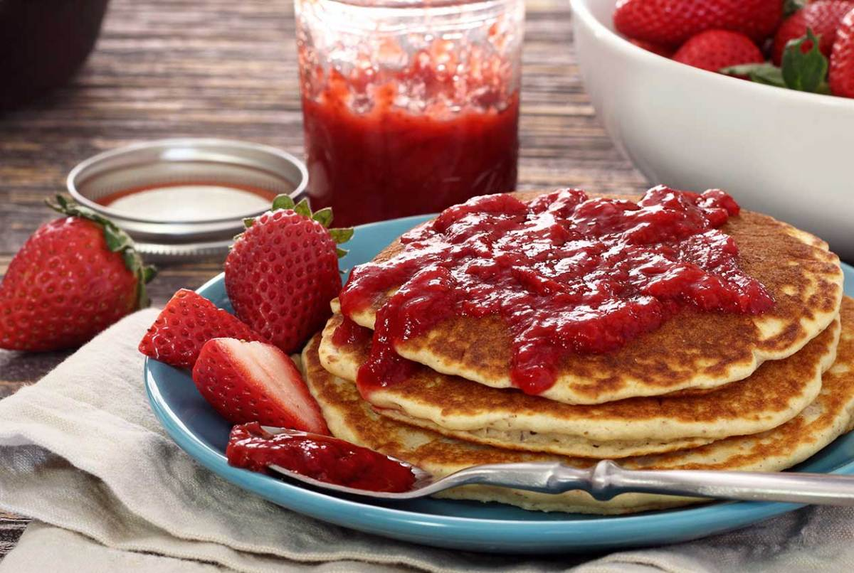 easy paleo recipe for strawberry jam