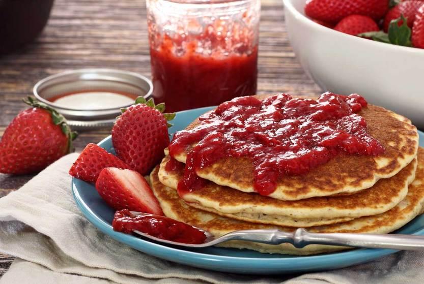 easy paleo recipe for strawberry jam