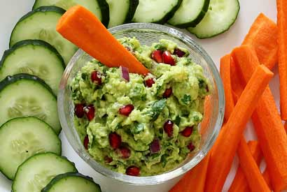 Paleo Guacamole with Pomegranate Recipe