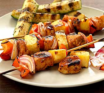 Paleo Chicken Chipotle-Lime Kabobs