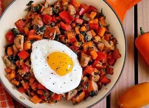 easy paleo recipe - kitchen sink breakfast hash