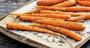simple paleo recipe - honey roasted carrots