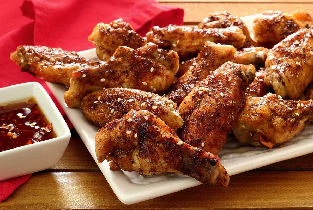 easy paleo diet recipe for Asian baked chicken wings