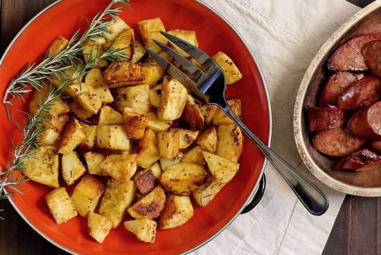 easy paleo recipe for mustard potatoes