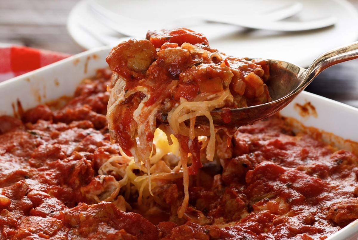 easy paleo recipe for baked paleo spaghetti squash