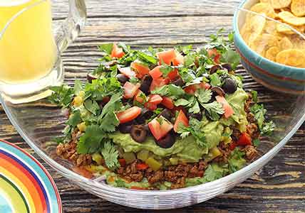 Paleo Easy Mexican Layered Dip Recipe