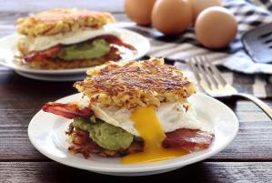 easy paleo recipe for hash brown breakfast sliders