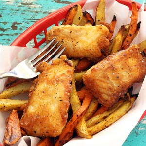 easy paleo recipe for fish and chips