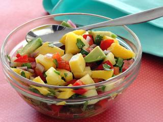Paleo Mango Pineapple Crazy Good Salsa