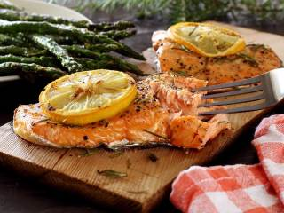 Paleo Plank Grilled Salmon