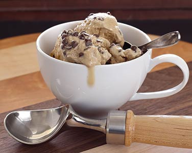 Paleo Coffee & Chocolate Chip Non-Dairy Ice Cream Recipe