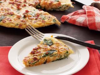 Paleo Spinach & Pancetta Frittata