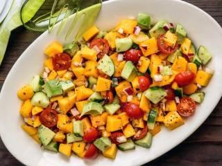 Paleo Mango Italian Summer Salad
