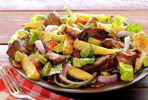 simple paleo recipe steak and potatoes salad