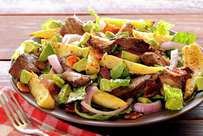 simple paleo recipe steak and potatoes salad
