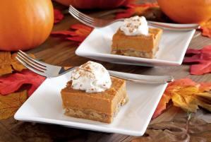 simple paleo recipe for pumpkin pie bar