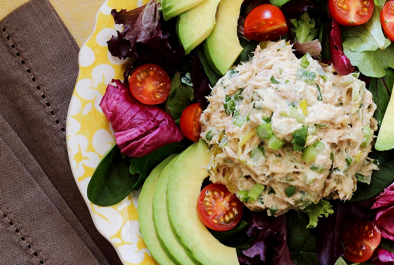 The Charm Of A Simple Tuna Salad Paleo Newbie
